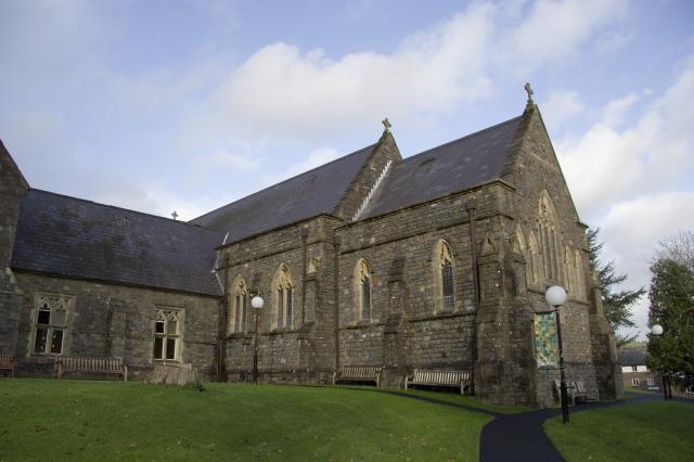 Trinity College Chapel, Carmarthen, Carmarthenshire _MG_3306.jpg Photo © Martin Crampin, Imaging the Bible in Wales