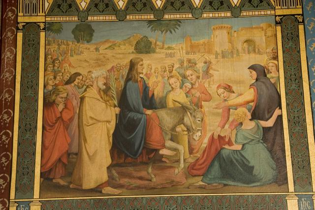 The Entry into Jerusalem    from    Scenes from the Life of Christ