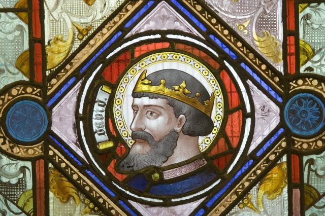 King David    detail from    Four Old Testament Characters
