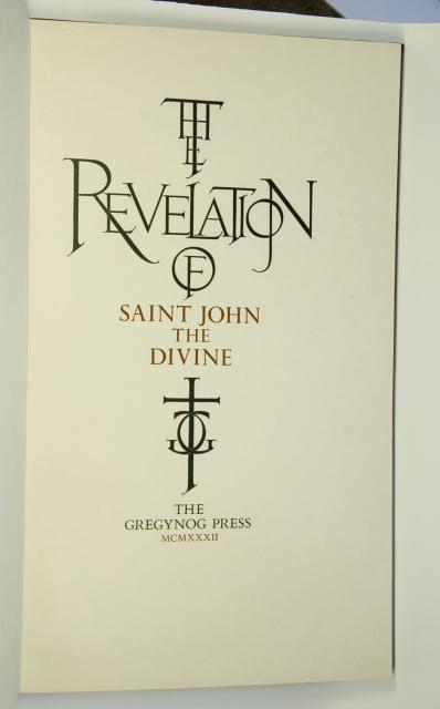 Frontispiece    from    Illustrations from <em>The Revelation of St John the Divine</em>