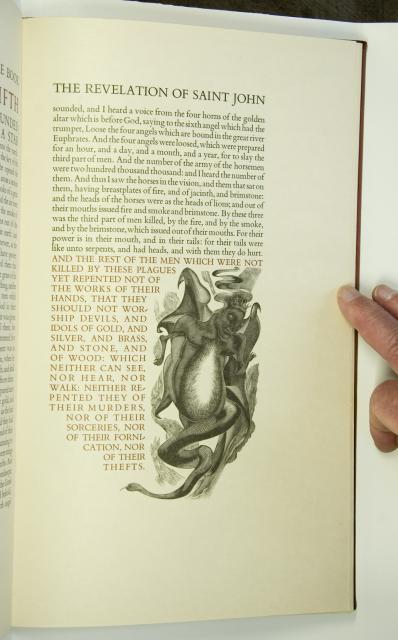 Beast from Revelation    from    Illustrations from <em>The Revelation of St John the Divine</em>