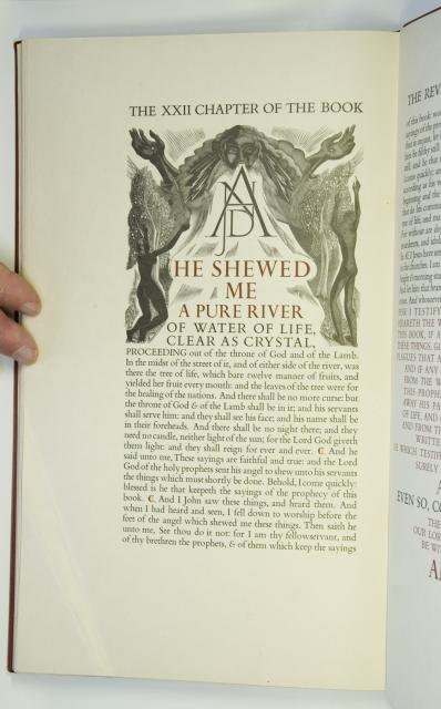 And he shewed me a pure river    from    Illustrations from <em>The Revelation of St John the Divine</em>