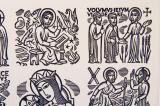 St Jude Writing and the Calling of St Philip: Regina Apostolorum OPN