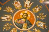 Christ Pantocrator Surrounded by Archangels and Cherubim
