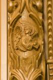 Winged Beast with the Face of a Man, Symbol of St Matthew the Evangelist: Painted and Carved Images on the Iconostasis