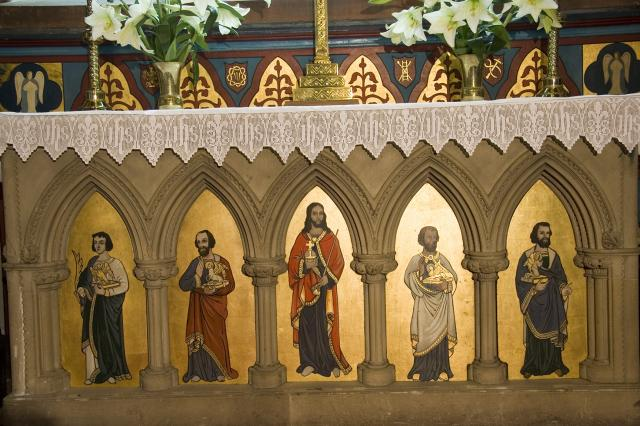 Christ and the Four Evangelists