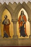 Christ and St Luke the Evangelist: Christ and the Four Evangelists