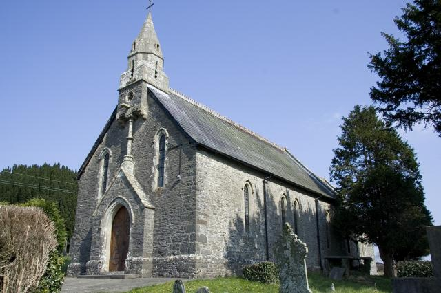 Church of St Sulien, Silian, Ceredigion _MG_4030.jpg Photo © Martin Crampin, Imaging the Bible in Wales