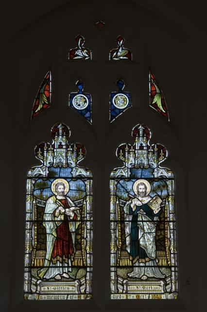 St Matthew and St Mark