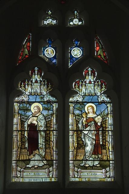 St Luke and St John