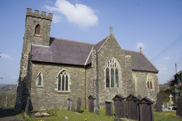 Church of St David, Capel Dewi, Ceredigion _MG_4055.jpg Photo © Martin Crampin, Imaging the Bible in Wales