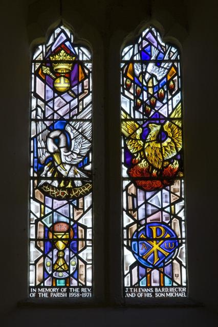 Representations of Christ the King, the Holy Spirit and the Resurrection