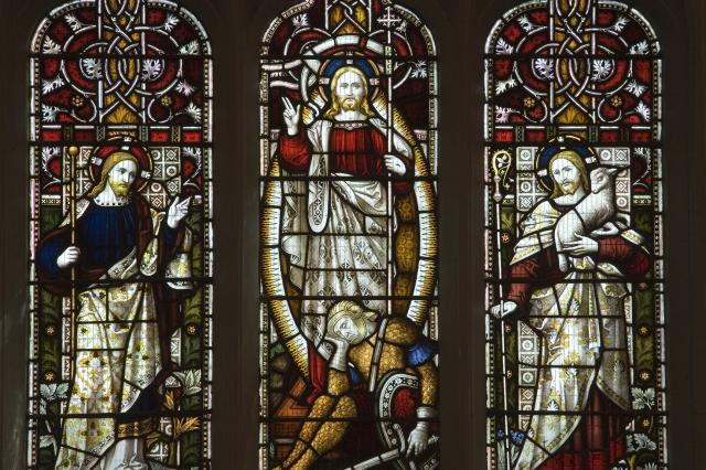 The Resurrected Christ, Christ the Teacher and Christ the Good Shepherd
