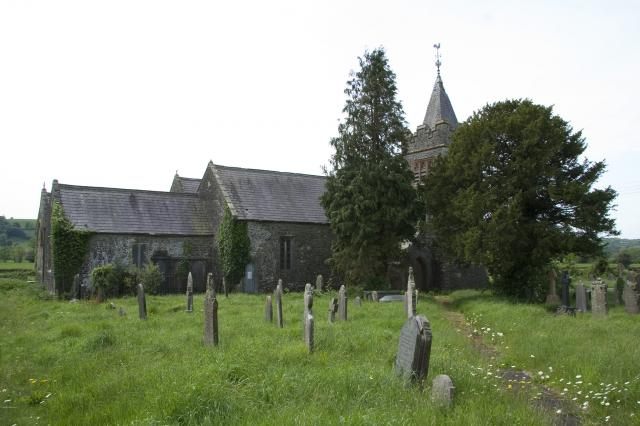 Church of St Egwad, Llanegwad, Carmarthenshire _MG_4944.jpg Photo © Martin Crampin, Imaging the Bible in Wales
