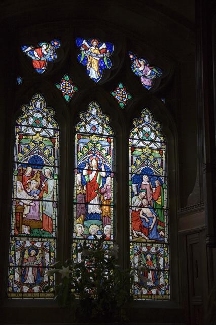 Peter Raises Tabitha, The Transfiguration and The Good Samaritan