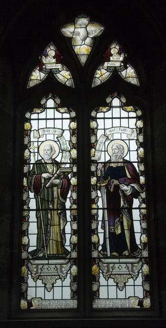 St Barnabas and St Paul