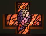 Grapes    from    Set of Windows with Eucharistic Symbols