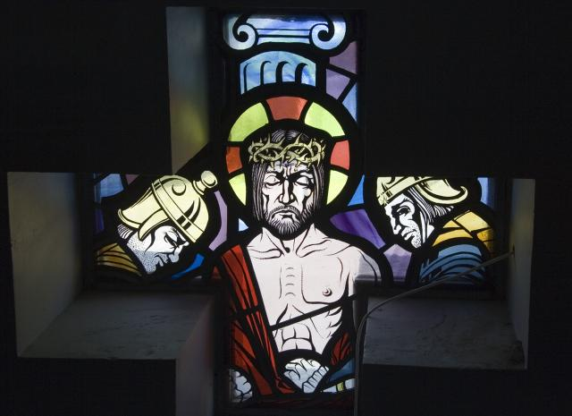 The Mocking of Christ    from    Set of Windows Depicting Scenes from the Passion