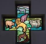 Animals    from    Set of Windows Depicting the Creation