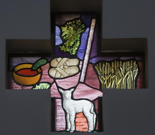 Emblems of the Passover    from    Set of Windows Depicting the Exodus