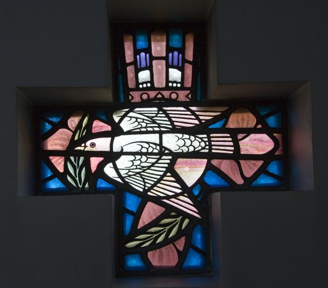 Dove    from    Set of Windows with Symbols of the Virgin Mary