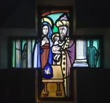 The Presentation in the Temple    from    Set of Windows Depicting Scenes from the Life of the Virgin