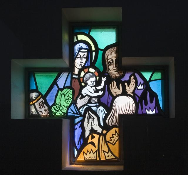 The Adoration of the Magi    from    Set of Windows Depicting Scenes from the Life of the Virgin