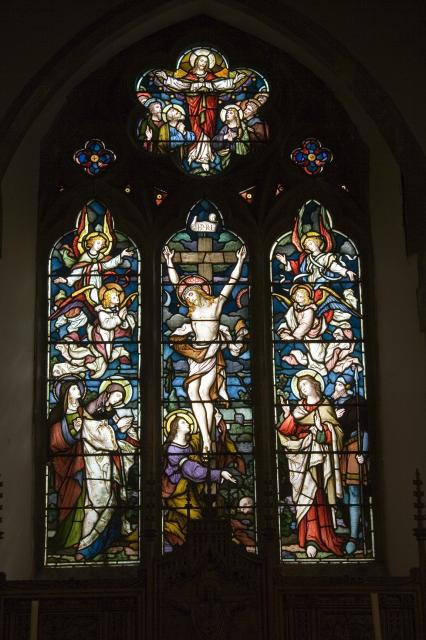 Crucifixion and Ascension