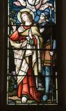 St John with Longinus: Crucifixion and Ascension