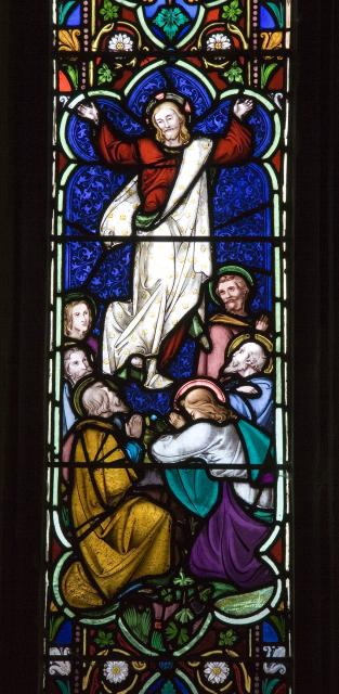 The Ascension    detail from    The Crucifixion and Ascension