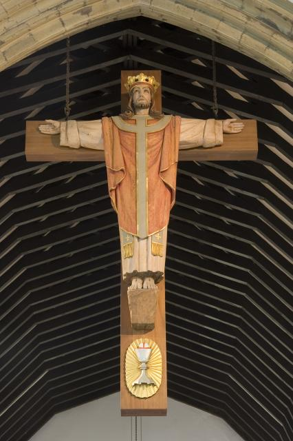 Christ Reigning from the Cross
