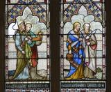 St James, St Jude, St Philip and St Bartholomew: Scenes from the New Testament with the Twelve Apostles