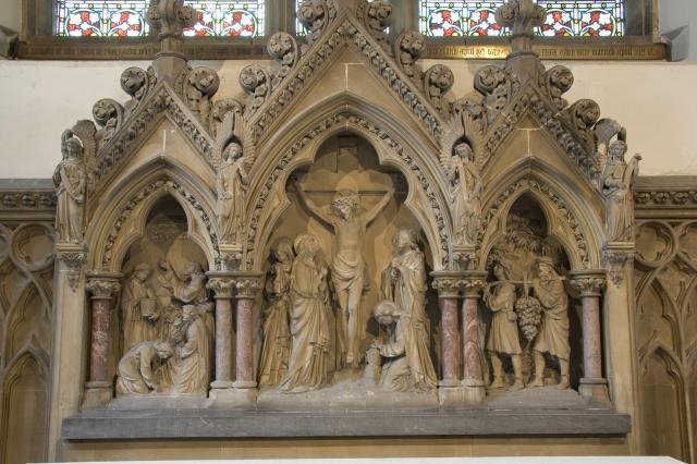The Crucifixion with Scenes from the Old Testament