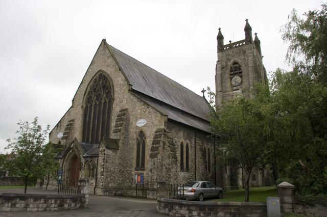 Church of St Mary the Virgin, Denbigh, Denbighshire _MG_5481.jpg Photo © Martin Crampin, Imaging the Bible in Wales