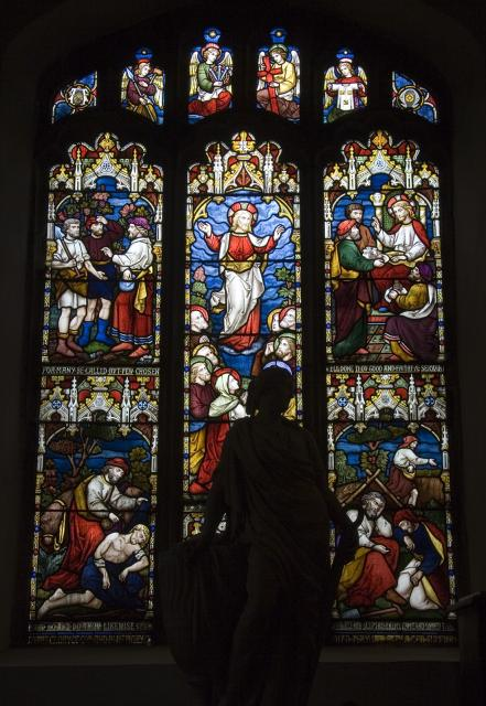 Ascension with Scenes from the Parables