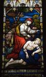 The Good Samaritan: Ascension with Scenes from the Parables