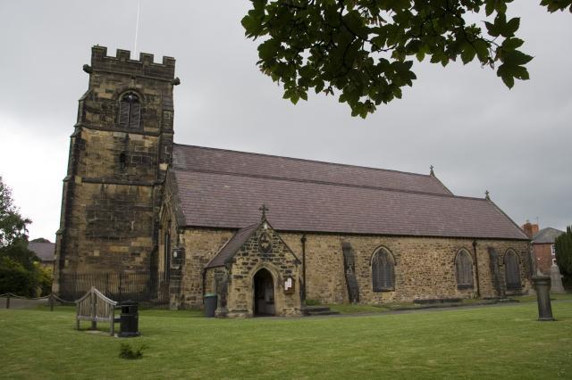Church of St Mary, Ruabon, Wrexham _MG_5864.jpg Photo © Martin Crampin