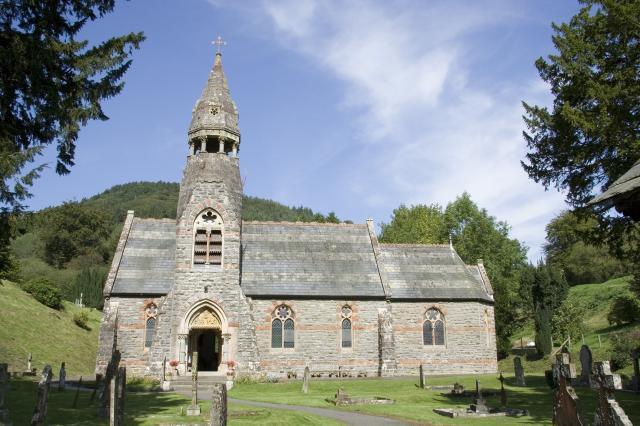 Church of St Mary the Virgin, Abbey Cwmhir, Powys _MG_2663.jpg Photo © Martin Crampin