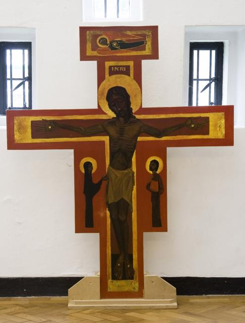 Crucified Christ with Mary and John