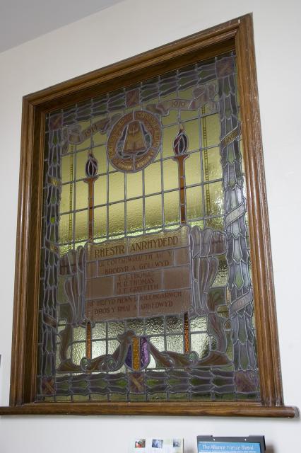 Vestibule War Memorial Window