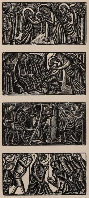 The Presentation, Finding in the Temple, Scourging at the Pillar, Crowning with Thorns
