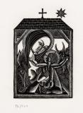 Nativity with Cross and Star