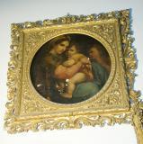 The Seated Madonna    from   Madonna della Seggiola