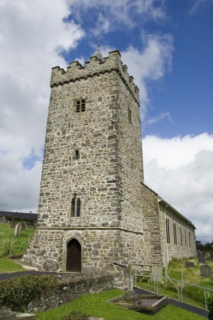 Church of St David, Llanarth, Ceredigion _MG_6487.jpg Photo © Martin Crampin, Imaging the Bible in Wales