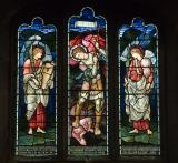 St Michael Overcoming the Devil with Angels