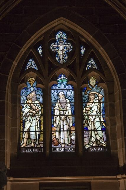 Ezechiel, Jeremiah and Isaiah