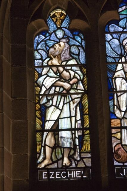 Ezechiel    detail from    Ezechiel, Jeremiah and Isaiah