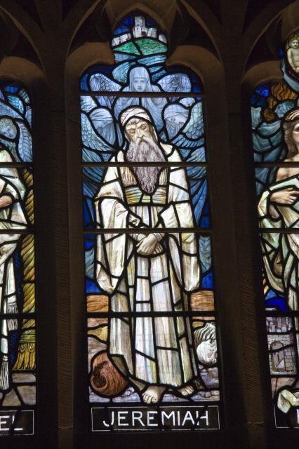 Jeremiah    detail from    Ezechiel, Jeremiah and Isaiah