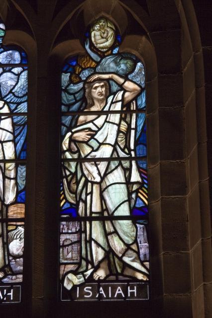 Isaiah    detail from    Ezechiel, Jeremiah and Isaiah