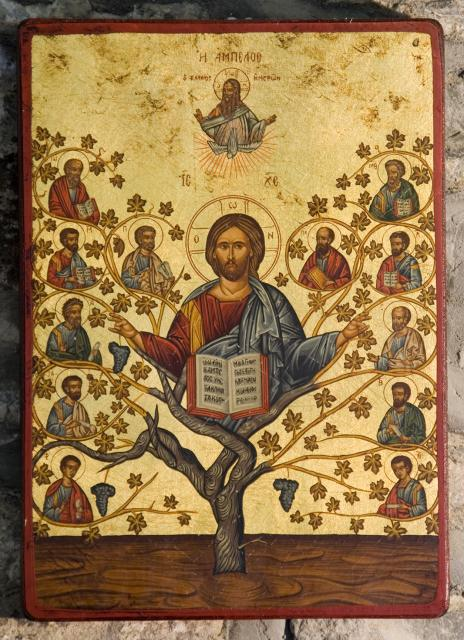 Christ with the Twelve Disciples